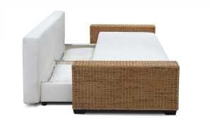 rattan schlafsofa m belideen. Black Bedroom Furniture Sets. Home Design Ideas